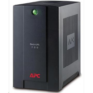 APC Back-UPS 700VA, 230V, AVR, French Sockets (390W)