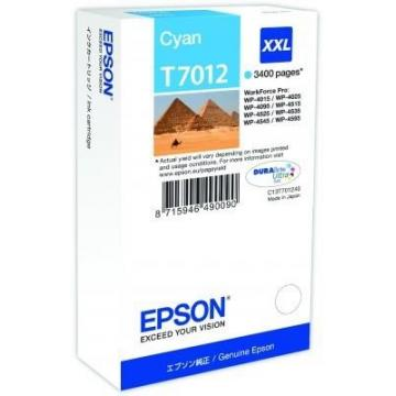 EPSON Ink bar WorkForce-4000/4500 - Cyan XXL