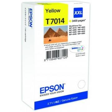 EPSON Ink bar WorkForce-4000/4500 - Yellow XXL