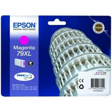 EPSON Ink bar WorkForce-5xxx Series Ink Cartridge 79 XL Magenta - 17,1ml