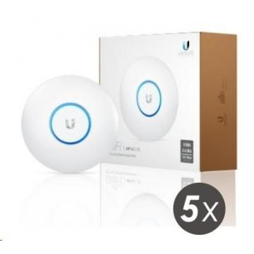 UBNT UniFi AP AC Lite, 5-PACK 2.4 + 5GHz