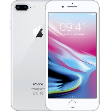 Apple iPhone 8 Plus 256GB, stříbrná