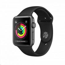 Apple Watch Series 3 GPS, Space Grey/Black (mtf02cn/a)