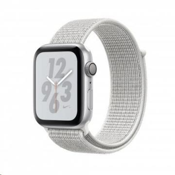 Apple Watch Nike+ Series 4, 44mm, Silver/White (mu7h2hc/a)