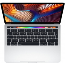 Apple MacBook Pro 13 Touch Bar, 2.4 GHz, 256 GB, Silver (2019)