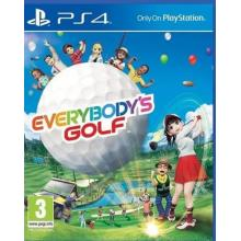 Everybody's Golf 7 pro Playstation 4