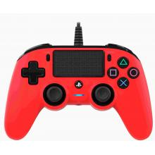 Nacon Wired Compact Controller PS4 - červený