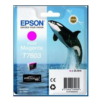 EPSON ink bar ULTRACHROME HD - Vivid Magenta - T7603