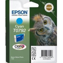 EPSON ink bar Singlepack Cyan T0792 Claria Photographic Ink blistr