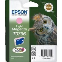EPSON ink bar Singlepack Light Magenta T0796 Claria Photographic Ink blistr