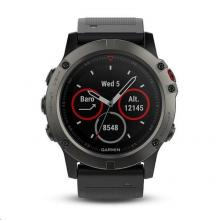 Garmin Fenix 5X Sapphire Gray Optic Black Band