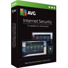 AVG Internet Security - Unlimited, (12 měs.) ESD