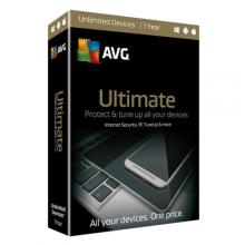 AVG Ultimate - nová licence, 1 rok, BOX