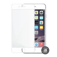 Screenshield APPLE iPhone 6 Plus / 6S Plus Tempered Glass protection (full COVER white) na displej