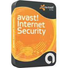 Avast  Internet Security, Nová licence, 1 PC, 2 Roky, BOX