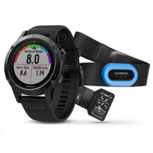 Garmin Fenix 5 Sapphire Black Optic TRI Performer Black band