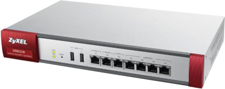 Zyxel ZyWALL USG210 UTM Security Firewall