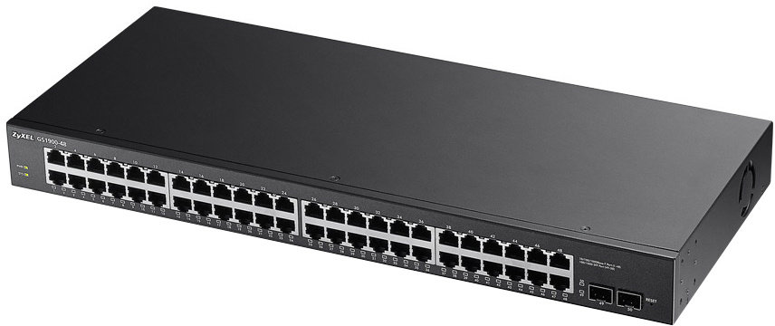 ZyXEL GS1900-48 50-portový manažovatelný switch