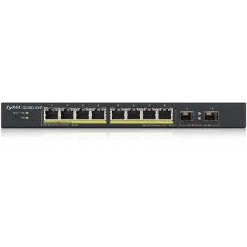 Zyxel GS1900-10HP 10-portový PoE Switch