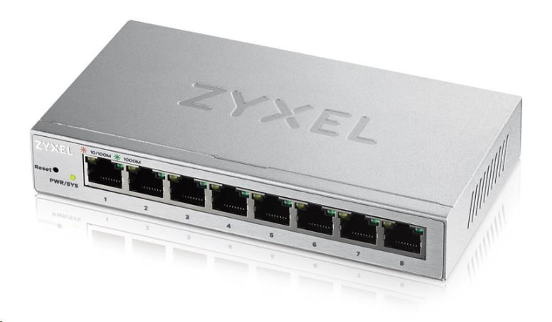 Zyxel GS1200-8 gigabitový switch