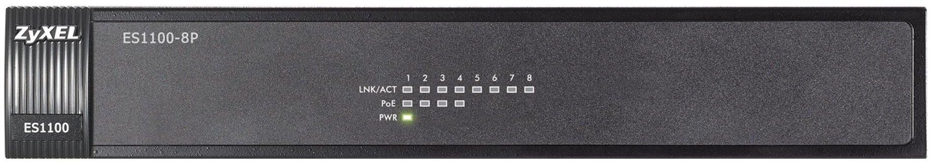 ZyXEL ES1100-8P 8-port 10/100 Ethernet switch