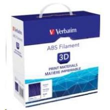 VERBATIM  Filament Retail BOX ABS 1.75mm 1kg - Transparent