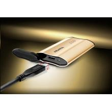 ADATA External SSD 512GB ASE730 USB 3.1 gold