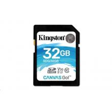 Kingston SDHC Canvas Go! 32GB, UHS-I U3