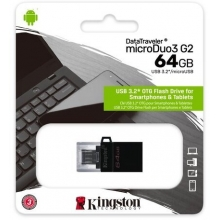 Kingston 64GB DataTraveler microDuo3 G2 (USB 3.0)