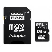 GOODRAM Micro SDXC card 128GB, Class 10, UHS-I + SD adapter