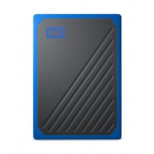 WD My Passport GO - 500GB, modrá