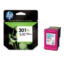 HP 301XL Tri-color Ink Cart, 6 ml, CH564EE