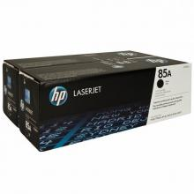 HP 85A Black 2-pack LJ Toner Cart CE285AD