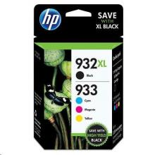 HP 932XL/933XL Ink Cartridge Combo Pack, C2P42AE