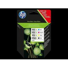 HP 950XL/951XL Ink Cartridge Combo Pack, C2P43AE