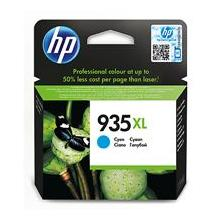 HP 935XL Cyan Ink Cartridge, 825str, C2P24AE