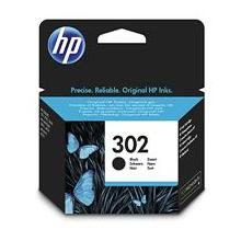 HP 302 Black Original Ink Cartridge, , F6U66AE
