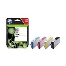 HP 364 CMYK Ink Cartridge Combo 4-Pack, N9J73AE