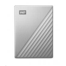 WD My Passport Ultra - 4TB, stříbrná