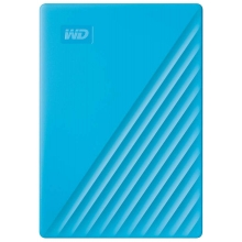 WD My Passport Portable - 4TB, modrá