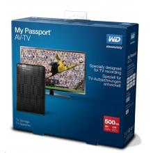 WD My Passport AV-TV - 500GB