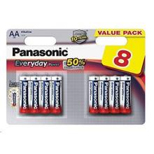 PANASONIC Everyday Power  AA 1,5V balení - 8ks