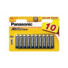 PANASONIC Alkaline Power AA 1,5V balení - 10ks