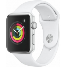 Apple Watch S3, 42mm, Silver AC/White Sport Band