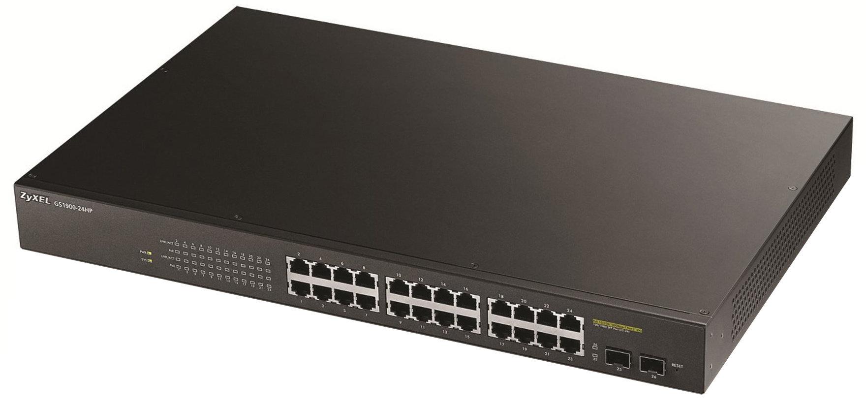 Zyxel GS1900-24, 24-port GbE L2