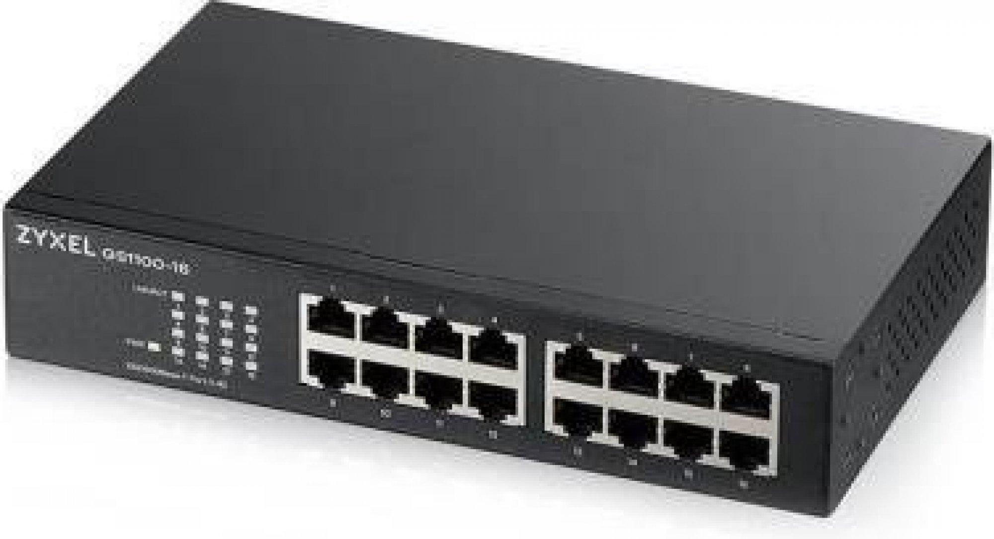 Zyxel GS1100-16, unmanaged v3