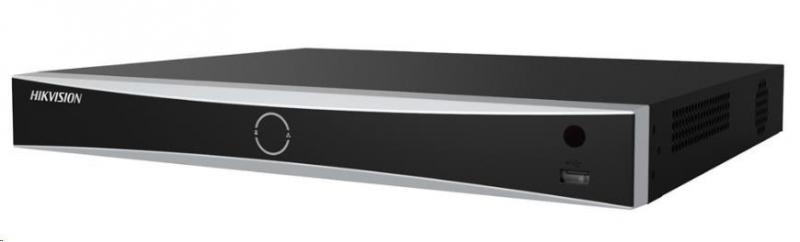 HIKVISION NVR, 8 kanálů, 2x HDD (až 8TB), 4K UHD, 2xUSB, 1xHDMI a 1xVGA, 4xDI,1xDO, audio in/out, POS, analytika - obrázek č. 0