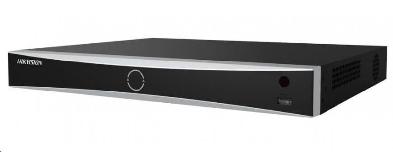 HIKVISION NVR, 16 kanálů, 2x HDD(až 8TB), 4K UHD, 2xUSB, 1xHDMI a 1xVGA, 4xDI,1xDO, audio in/out, POS, analytika - obrázek č. 0