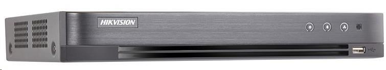 HIKVISION Hybridní NVR, 8x analog + 4x IP, 1x HDD(až 10TB), 1920x1080, 2xUSB, 1xHDMI a 1xVGA, audio in/out - obrázek č. 0