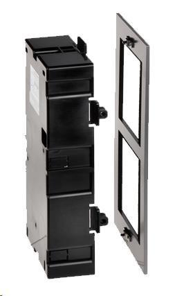 HIKVISION DS-KD-ACF2, rámeček pro modulární interkom, pro 2 moduly, zápustná montáž - obrázek č. 0